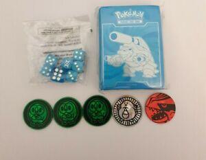 Blastoise Card Sleeves - Evolutions - ETB Fresh plus Dice and coins Pokemon Card