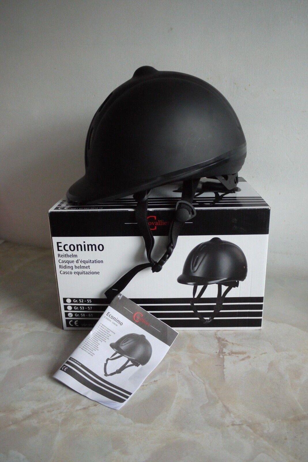 Covalliero 58-61cm Econimo Riding Helmet Größe - 58-61cm Covalliero 5e8967