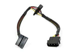 Cable-alimentation-1x-MOLEX-Male-vers-2x-SATA-II-Female-env-27cm