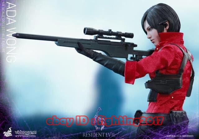 1 6 Hot Hot Hot Toys VGM 21 Resident Evil 6 Biohazard Bio Hazard Ada Wong Figure Model e1ad5a