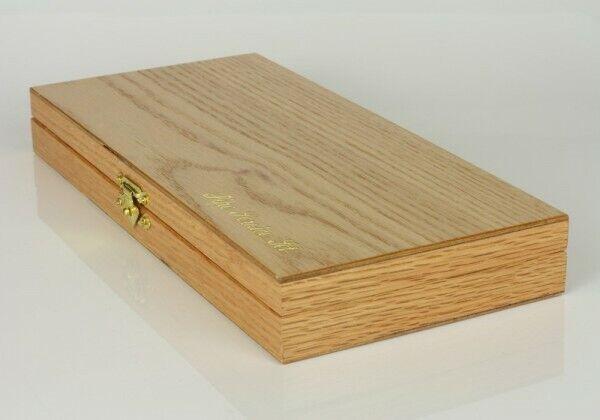 Pfeifen Reinigerset mit vielen Aufsätzen in ansprechenden Holzbox, (Art. 11276)