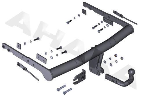 ES7 Ford S-Max Bj 2006-2015  Anhängevorrichtung Anhängerkupplung komplett AHK