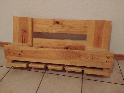 Weinregal Europalette Wandregal Holz Vintage Neu Bar Rustikal Ebay