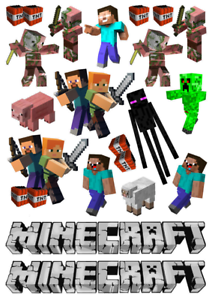 minecraft cake topper png