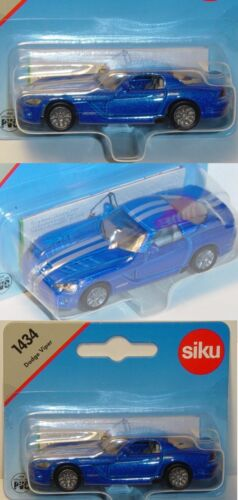 ca 1:55 Siku Super 1434 Dodge Viper SRT-10 Coupé
