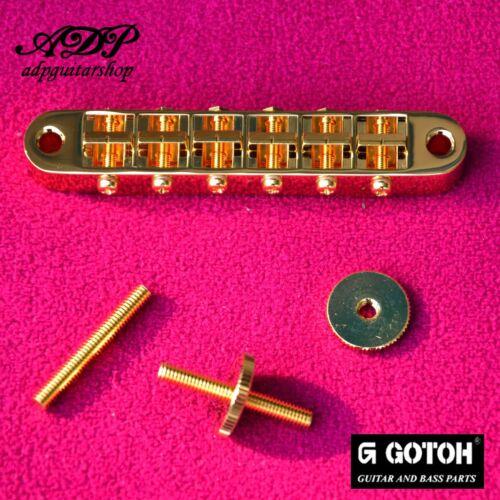 Chevalet Gotoh GE103B Vintage  4M//4,5mm Tune-O-Matic Gibson style Bridge GOLD