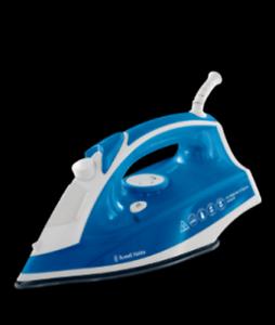 Russell-Hobbs-supreme-Fer-A-Vapeur-2400-W-Bleu-Fer-Non-Stick-Semelle-Plate-RH23063