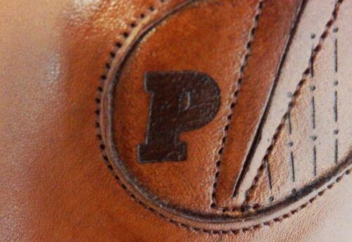 en italien 100 Picasso cuir Slipper Pablo de Business veau brun Designer YY4Fx