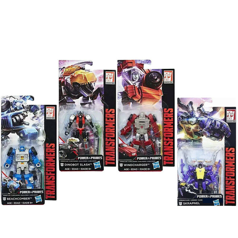 Transformers Power of the Primes Legends Beachcomber Slash Windcharger Skrapnel