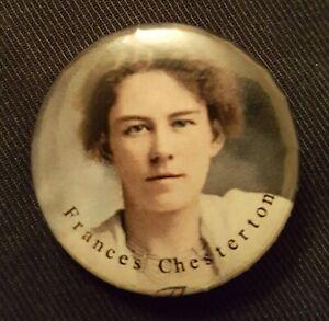 Frances Chesterton one inch [2.5cm] button badge
