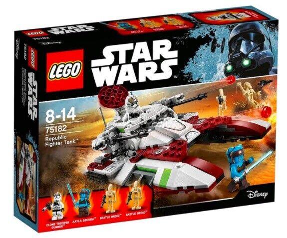 LEGO Star Wars Republic SERBATOIO Fighter (75182) NUOVO/scatola originale-NEW/SEALED
