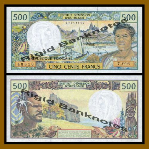 ND 1992 P-1b Unc French Pacific 500 Francs