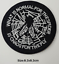 miniature 44 - Sew Iron On Round Patches Popular Badge Transfer Embroidered Funny Biker Slogan