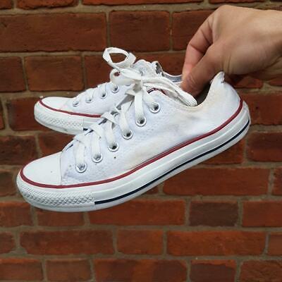 chaussures femme converse basse blanc
