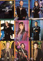 Babylon 5 Season 4 1998 Fleer Skybox Complete Base Card Set Of 81 Tv