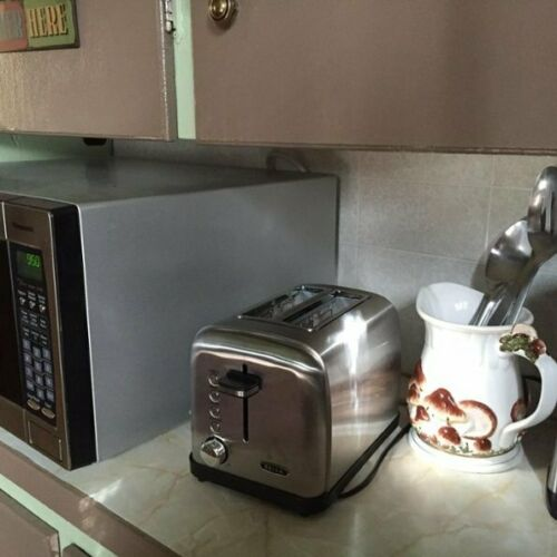 Stainless Steel 900W 2-Slice Wide-Slot Toaster