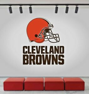Image Is Loading Cleveland Browns Logo Wall Decal Sports Window Sticker
