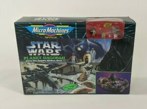 Vintage-1994-Micro-Machines-Star-Wars-Planet-Dagobah-Playset-Skywalker-Yoda