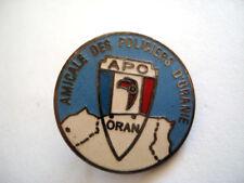 PINS RARE APO ORAN ALGERIE AMICALE DES POLICIERS
