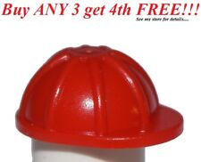 Lego City Lot//5 Minifig RED HARD HAT