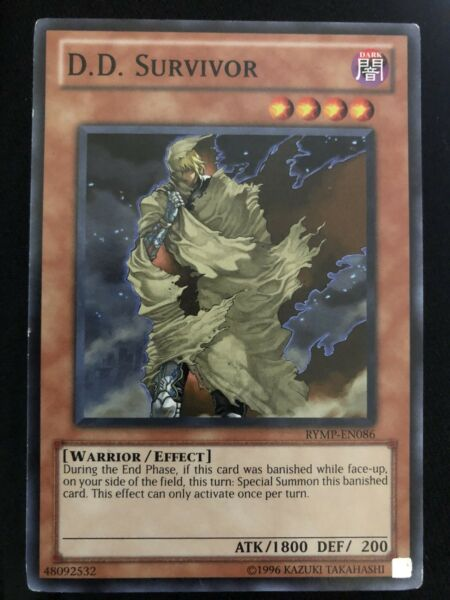 D D  Survivor Yugioh Card Genuine Yu-Gi-Oh Trading Card