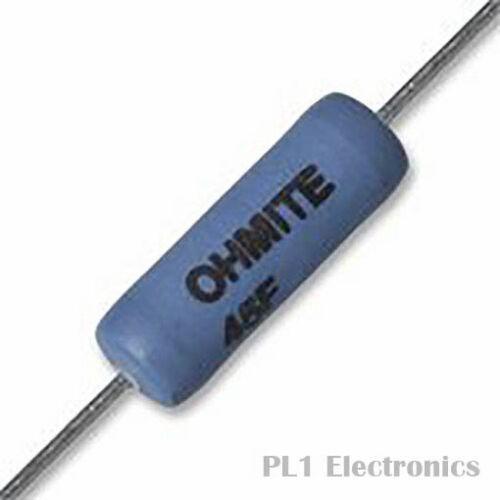 460 V 5 W ± 1/% Ohmite 45fr50e RESISTORE foro passante 40 0.5 ohm Series