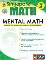 Mental Math, Grade 3: Strategies and Process Skills to Develop Mental Calculat..