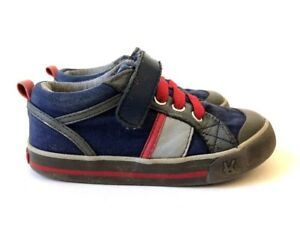 KAI-RUNNERS-Blue-amp-Red-Sneaker-Shoes-Children-Kids-US-Boys-9