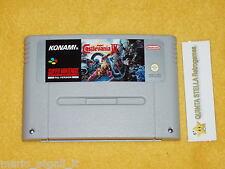 SUPER CASTLEVANIA 4 Super Nintendo versione PAL SNES cart only  solo cartuccia
