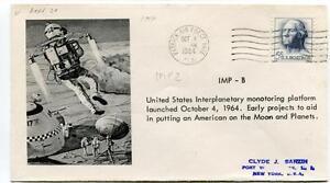 1964 Imp-b United States Interplanetary Monotoring Platform Monn Planets Patrick