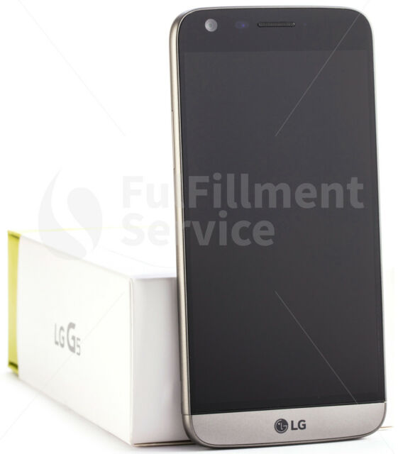 LG g5 h850 Smartphone Téléphone Android 2x Caméra Quad HD 16 M 32 Go Titane Gris Nouveau