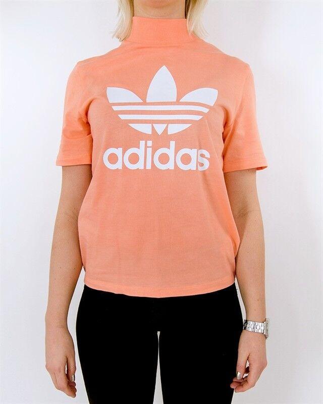 Az új Adidas Womens Pharrell Williams Hu túrázó logó Trefoil Tee póló Sz Kis