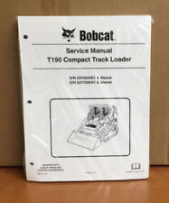 Bobcat T190 Track Loader Service Manual Shop Repair Book 4 Part 6987043