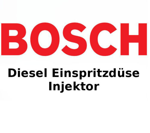 VOLVO BOSCH Diesel Einspritzdüse Düsenstock Injektor 0433271036