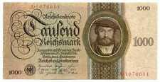 Germany Deutsche Reichsbank Reichsbanknote 1000 Reichsmark 11.10 1924 XF++ #172a