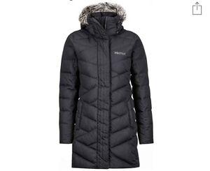 Medium Farve Varma Størrelse Down Marmot Sort Long Women's Jacket x6q87nnfSw