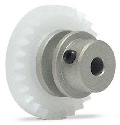 Inline Crown Teflon Coated Aluminum spare parts Slot.it SIGI24A Gear 24T 1//pc