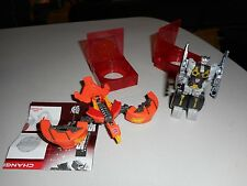 Hasbro Transformers Generations FOC Data disc lot Rewind and Sunder, complete