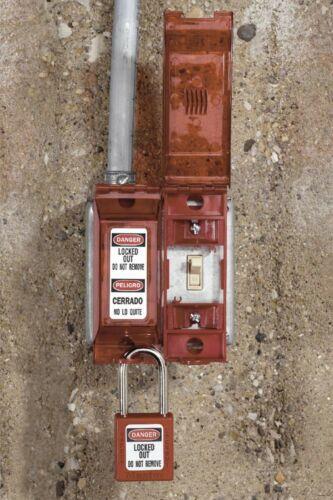 Details about  / 410Red Bloqueo Etiquetado Candado De Seguridad Rojo