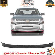 Bumper Lower Valance Extension Textured For 2007 2013 Chevrolet Silverado 1500