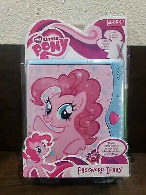 MY LITTLE PONY PASSWORD DIARY AGES 4 AND UP NEW