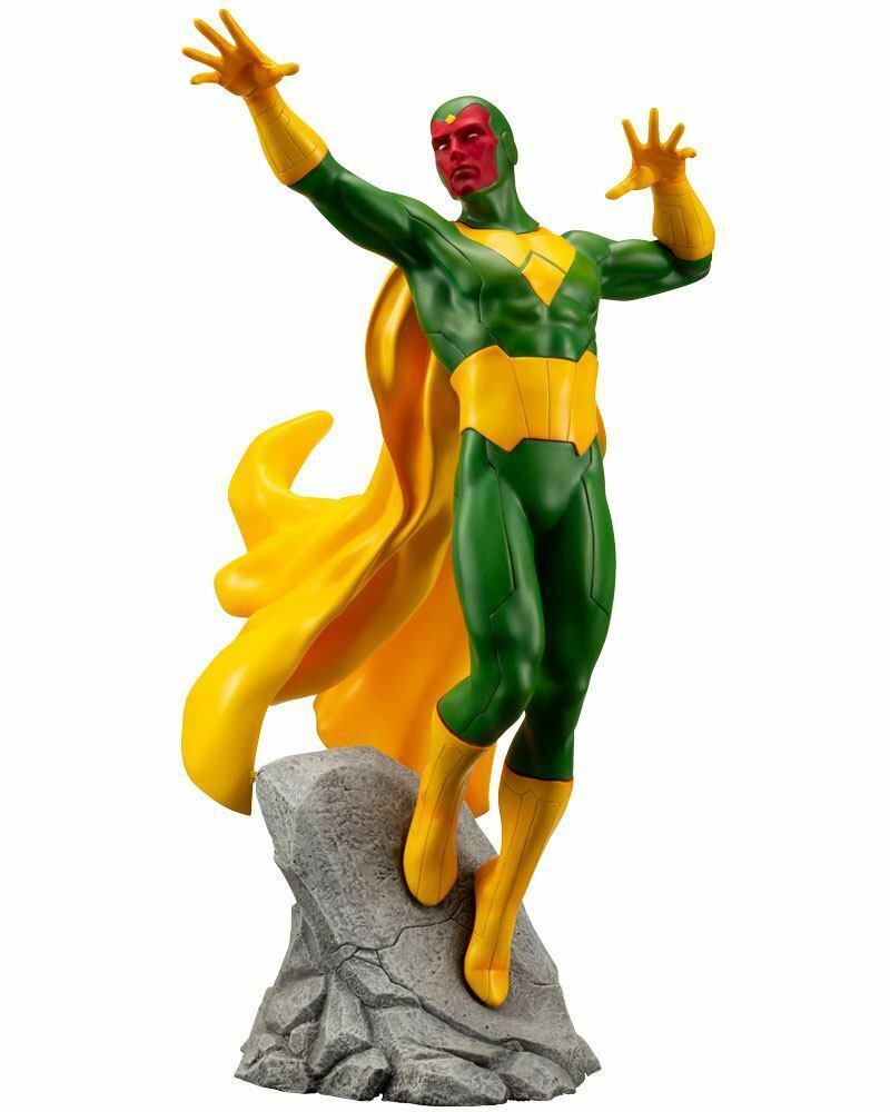Kotobukiya Marvel Avengers Vision Figurine 22 cm Artfx 1 10 L