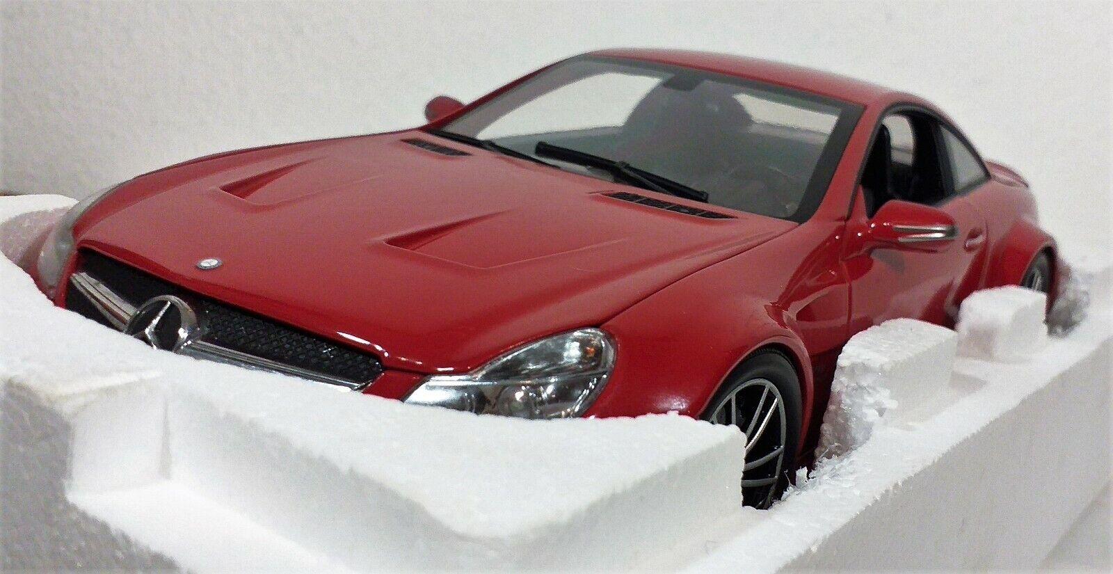 a la venta 1 18 Mercedes SL65 SL65 SL65 AMG 2009 Serie Negro Rojo Minichamps 100038122  descuentos y mas