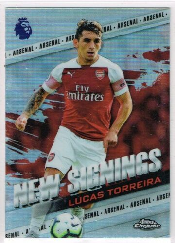 TOPPS CHROME Premier League 2018-2019 ☆ New signings ☆ Football encarts