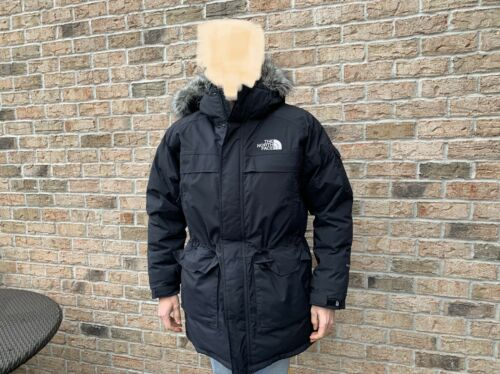 THE NORTH FACE Hyvent Black Goose Down Mens Coat W