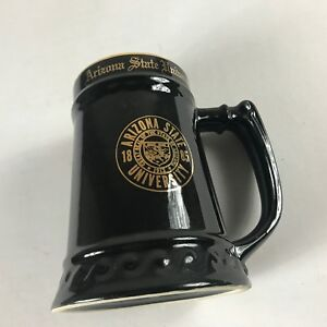 Arizona-State-Sun-Devils-Stein-VTG-Mug-Cup-USA-Made-WC-Bunting-Student-Alumni