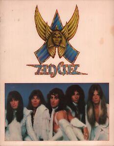 ANGEL-1979-WHITE-HOT-TOUR-CONCERT-PROGRAM-BOOK-BOOKLET-PUNKY-MEADOWS-EX-2-NM