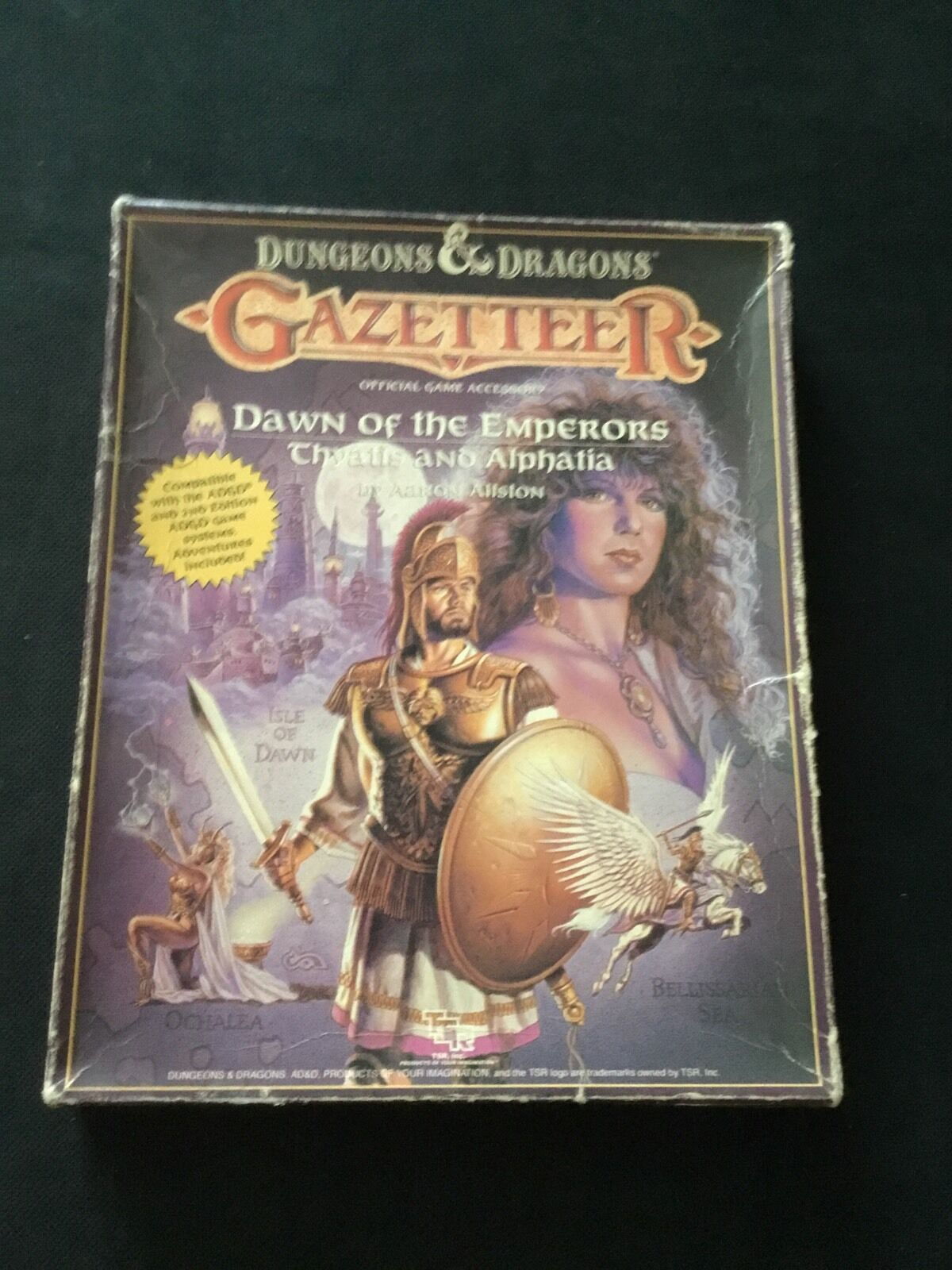 Dungeons & Dragons - Mystara Gazeteer- Dawn Of The Emperors Thyatis And Alphatia
