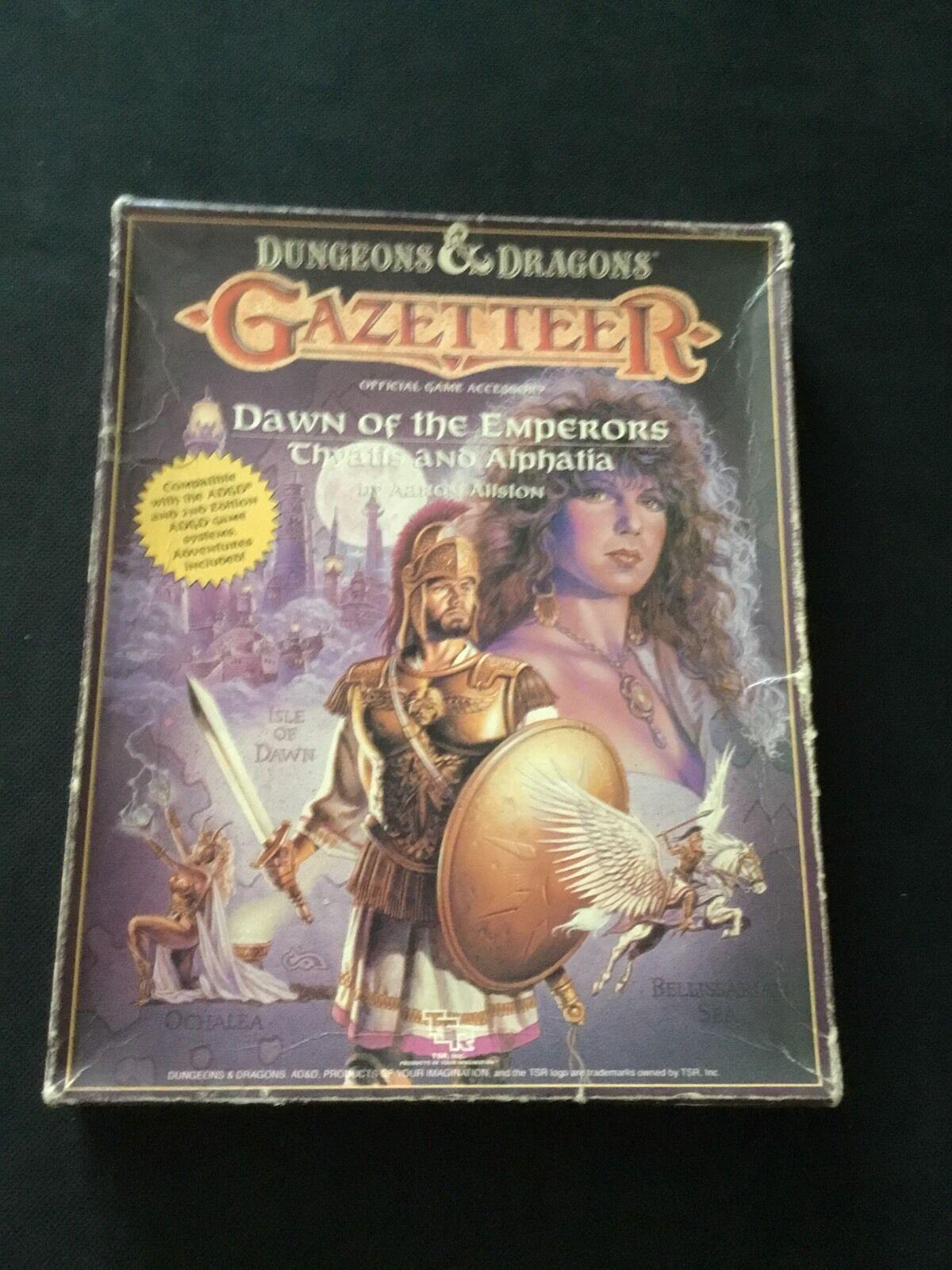 Dungeons &  Dragons - Myestrellaa Gazeteer- Dawn Of The Emperors Thyatis e Alphatia  rivenditore di fitness