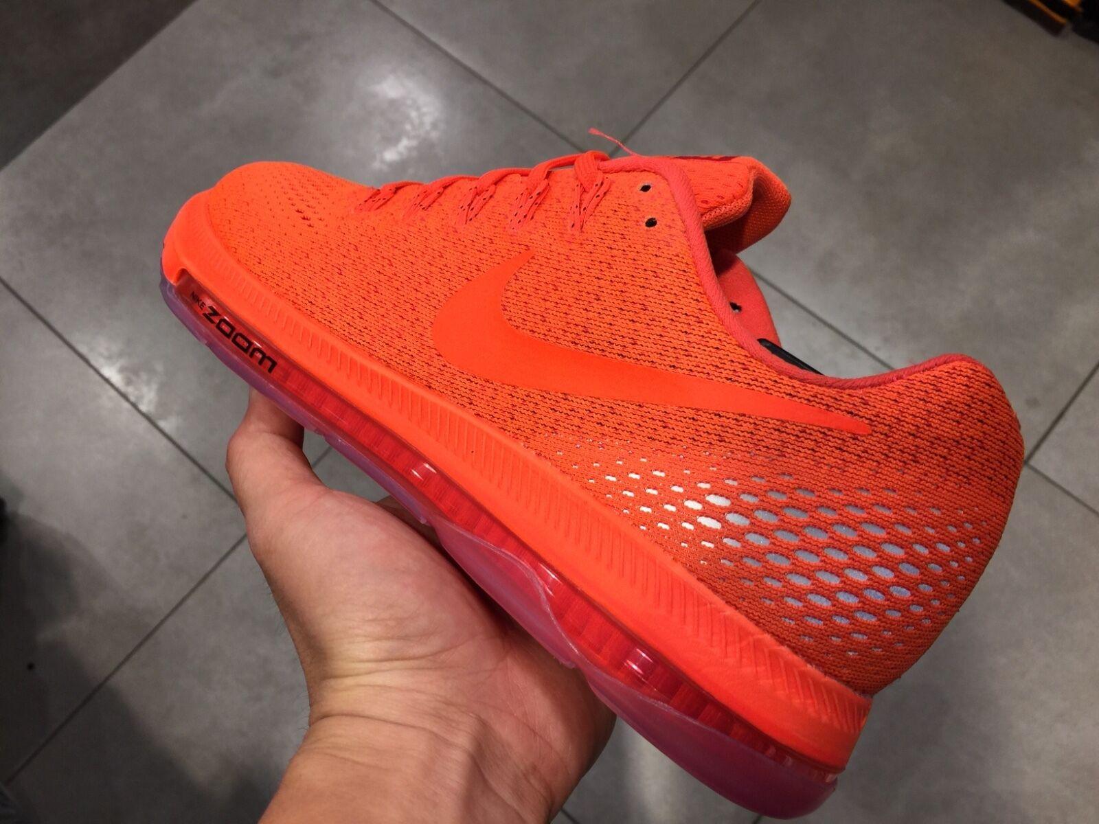 Nike Air Flywire run neon orange running Flyknit racer 95 Max 90 3.26 vapormax 1